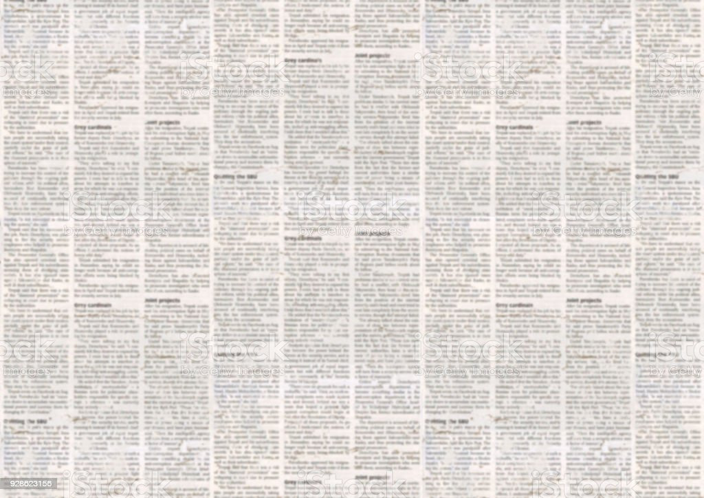 Old newspaper texture background