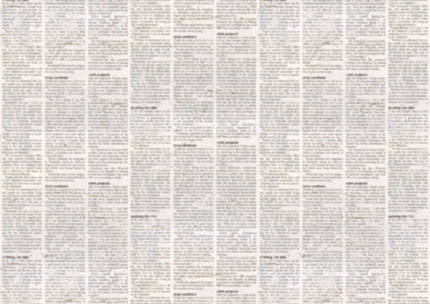 Old newspaper texture background stock photo