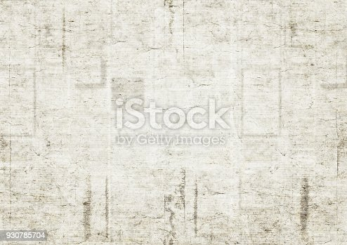 istock Old newspaper texture background 930785704