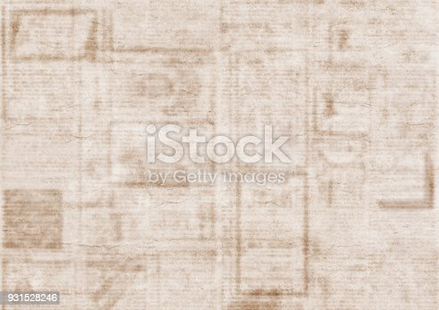 926279334 istock photo Old newspaper texture background 931528246