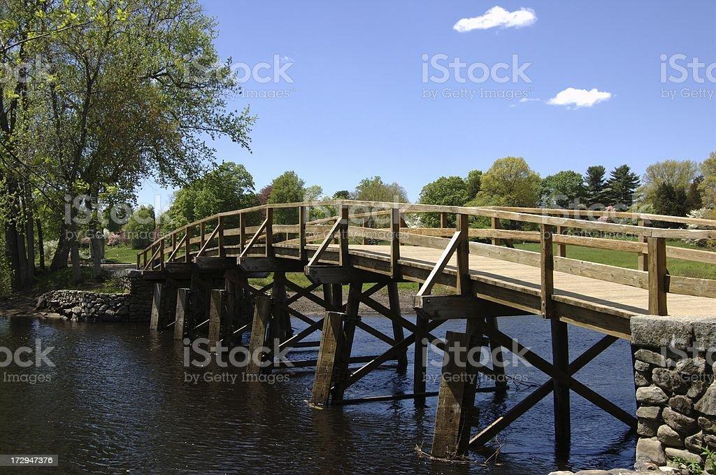 Old North Bridge royalty-free stock photo