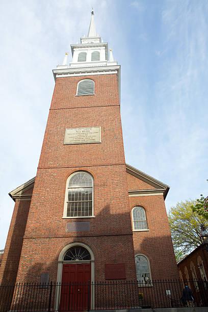 Old North Church, Boston, Ma stock photo