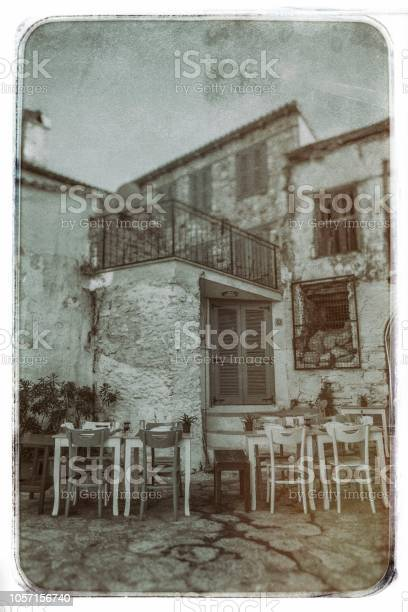 Old nostalgic photo of  Marmaris - Turkeye