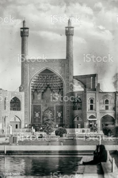 Old nostalgic photo of İsfahan- Iran