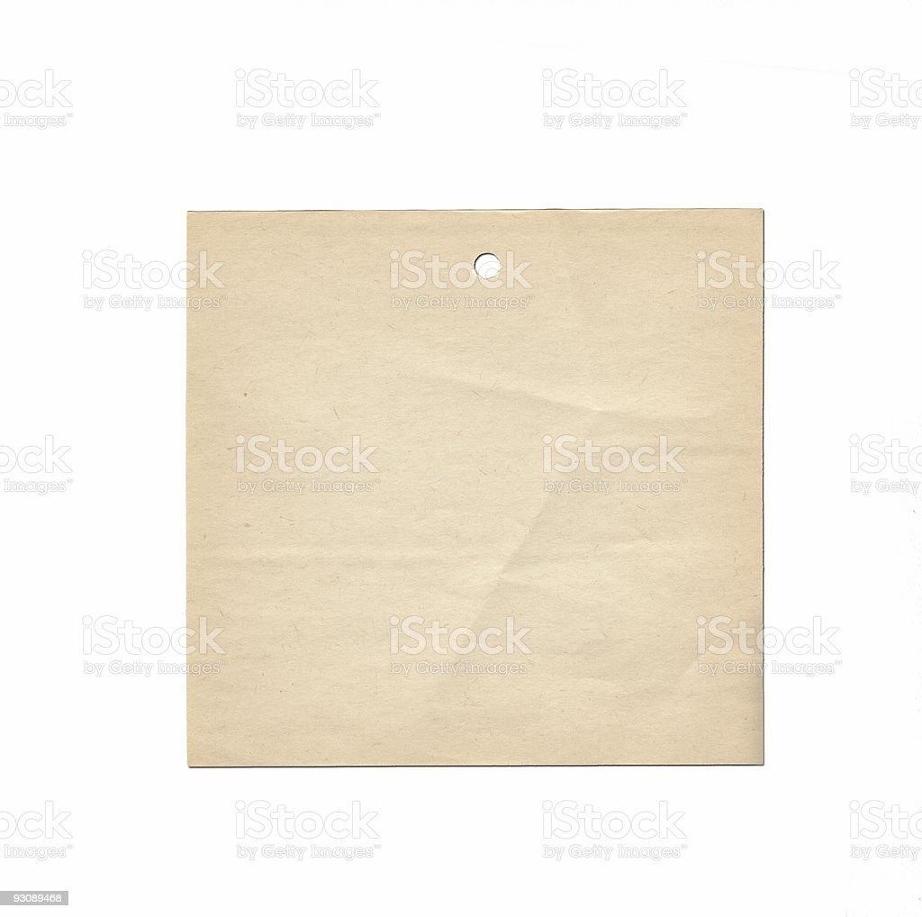old note paper royalty-free stock photo