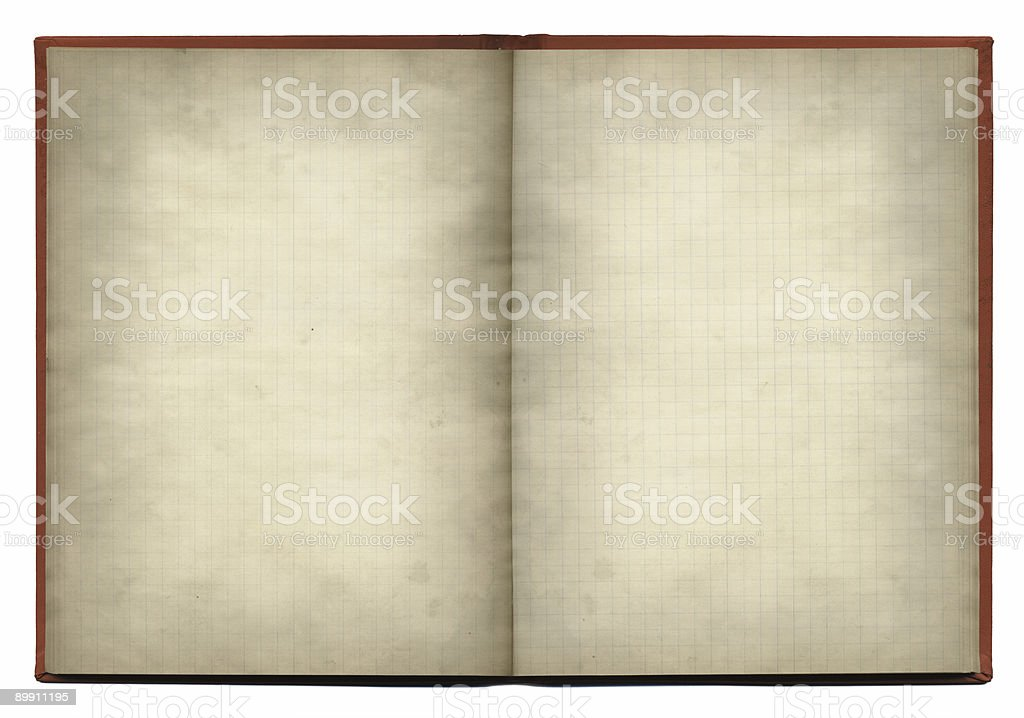 old notebook XXL royalty-free stock photo