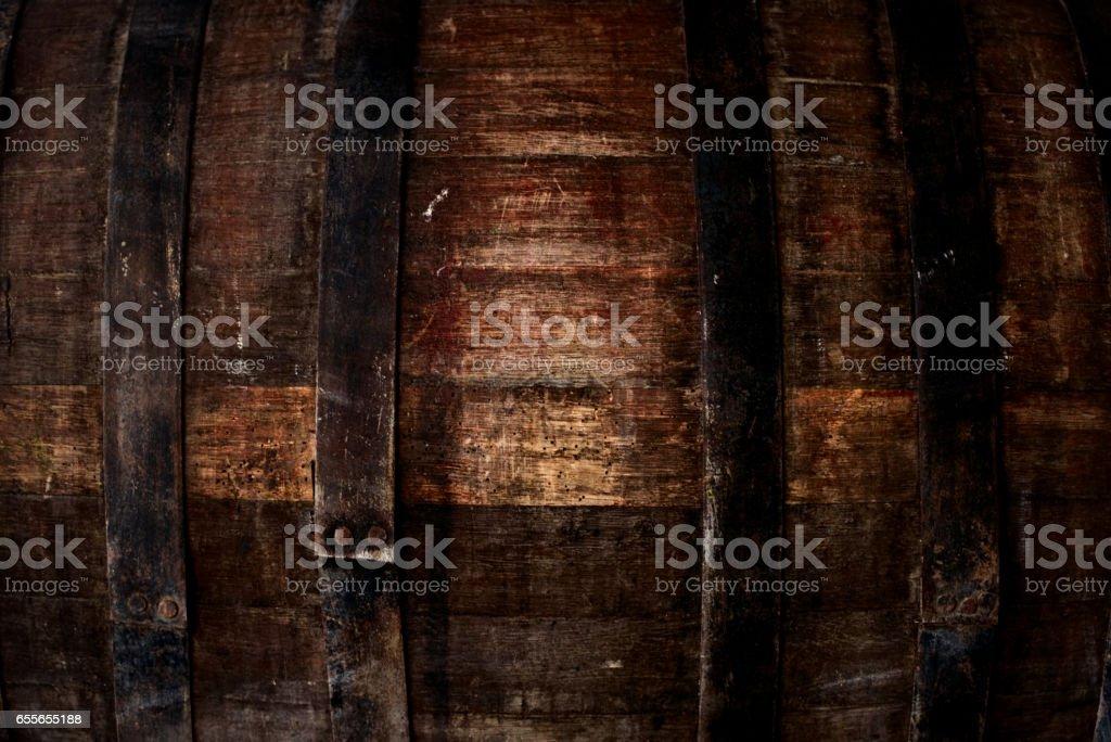 Old oak barrel - foto stock