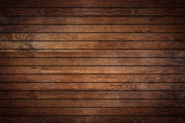 old oak wood rustic retro background - plank stock photos and pictures
