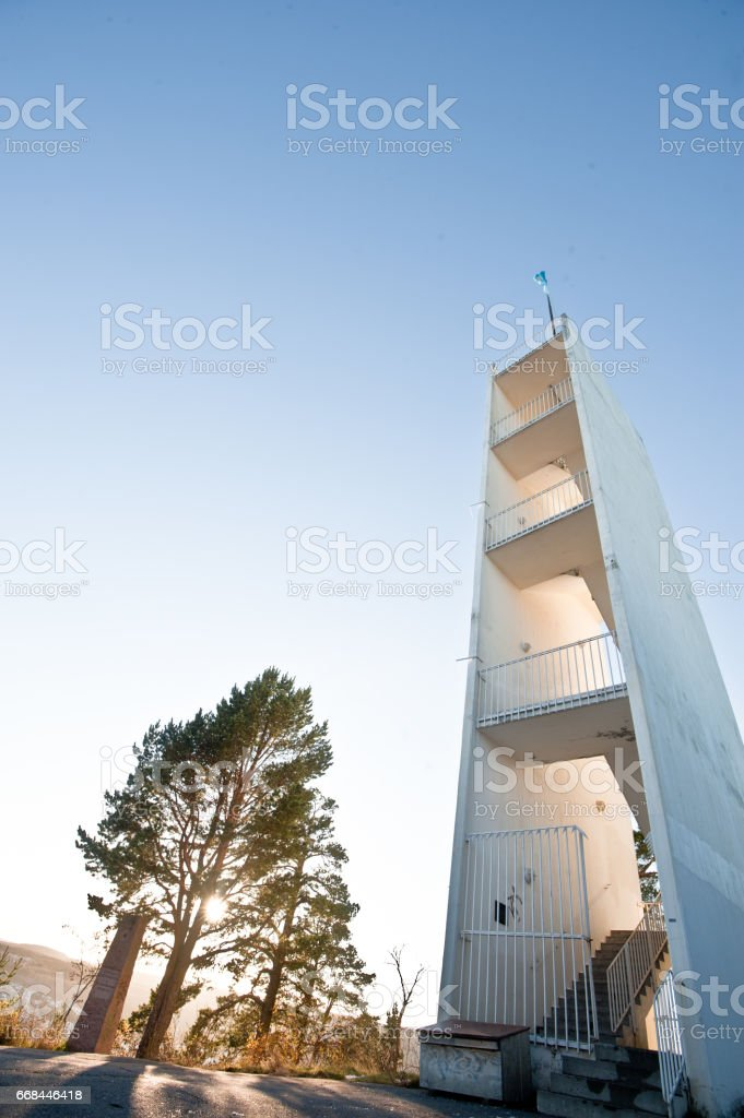 Old Observation Tower stock photo