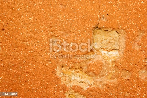 Old Ocre wall in The Provence.