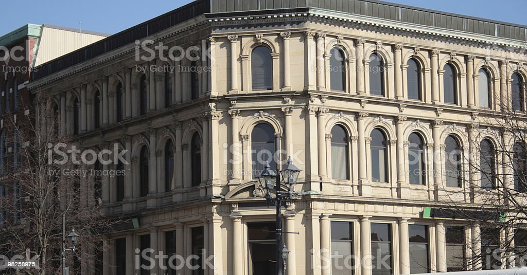 old office building royalty-free stock photo