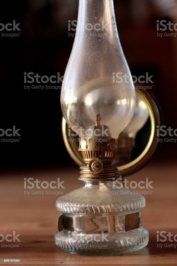 Old Oil Lamp stock photo