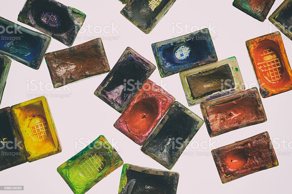 Aceite de pinturas foto de stock libre de derechos