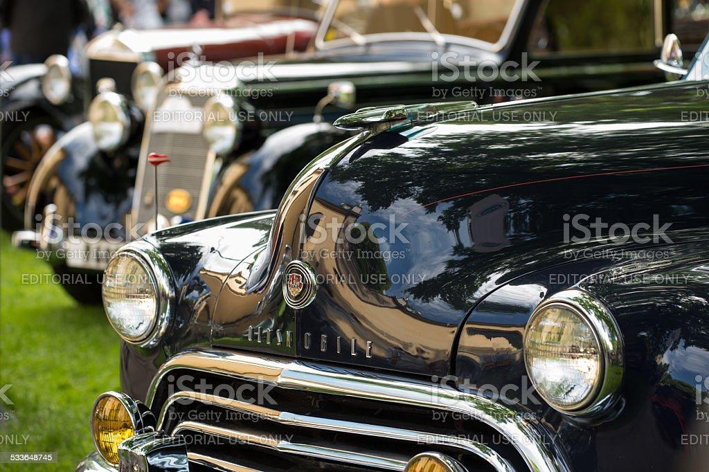 Old Oldsmobile stock photo