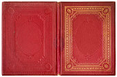 Old open book 1870