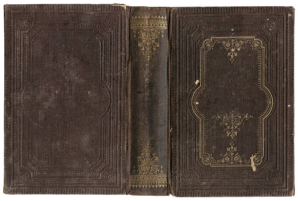 Velho Livro aberto - foto de acervo