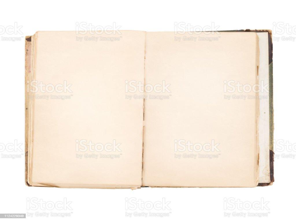 Photo Libre De Droit De Vieux Livre Ouvert Avec Des Pages