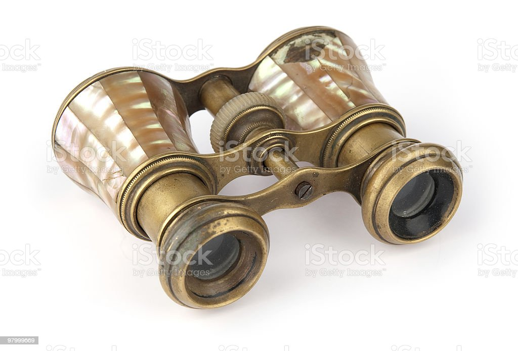 old opera glasses royalty-free stock photo