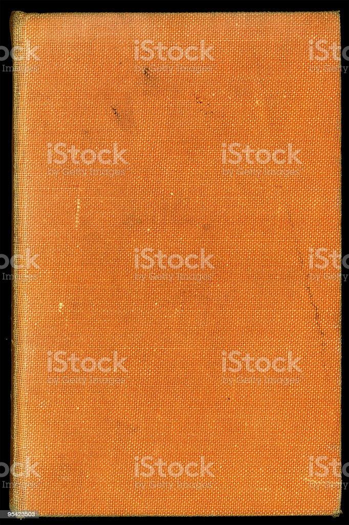 Alte orange Buchumschläge Lizenzfreies stock-foto