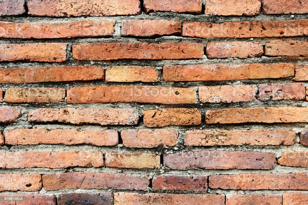Old orange brick wall texture background photo libre de droits