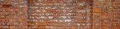 Old orange mottled brick wall texture banner background material