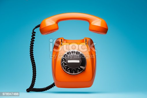 Retro telephone.