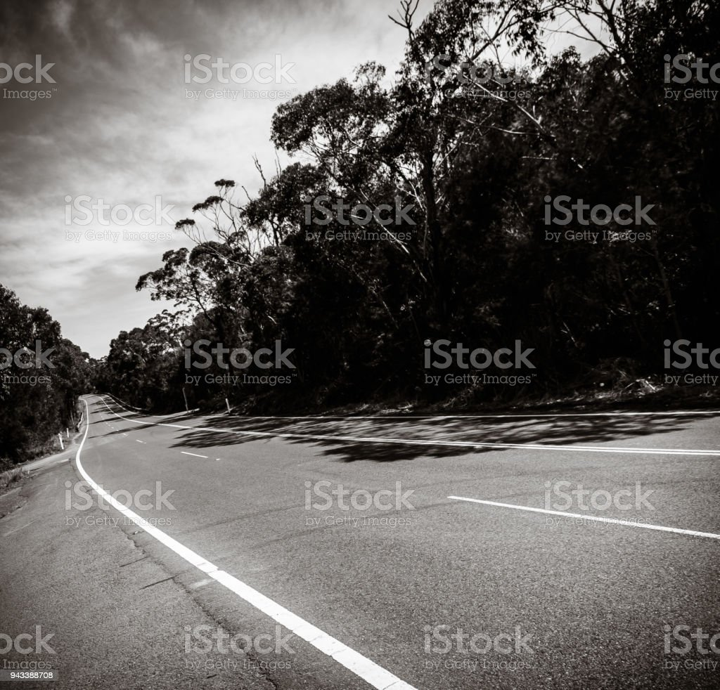 Old Pacific Highway stock photo