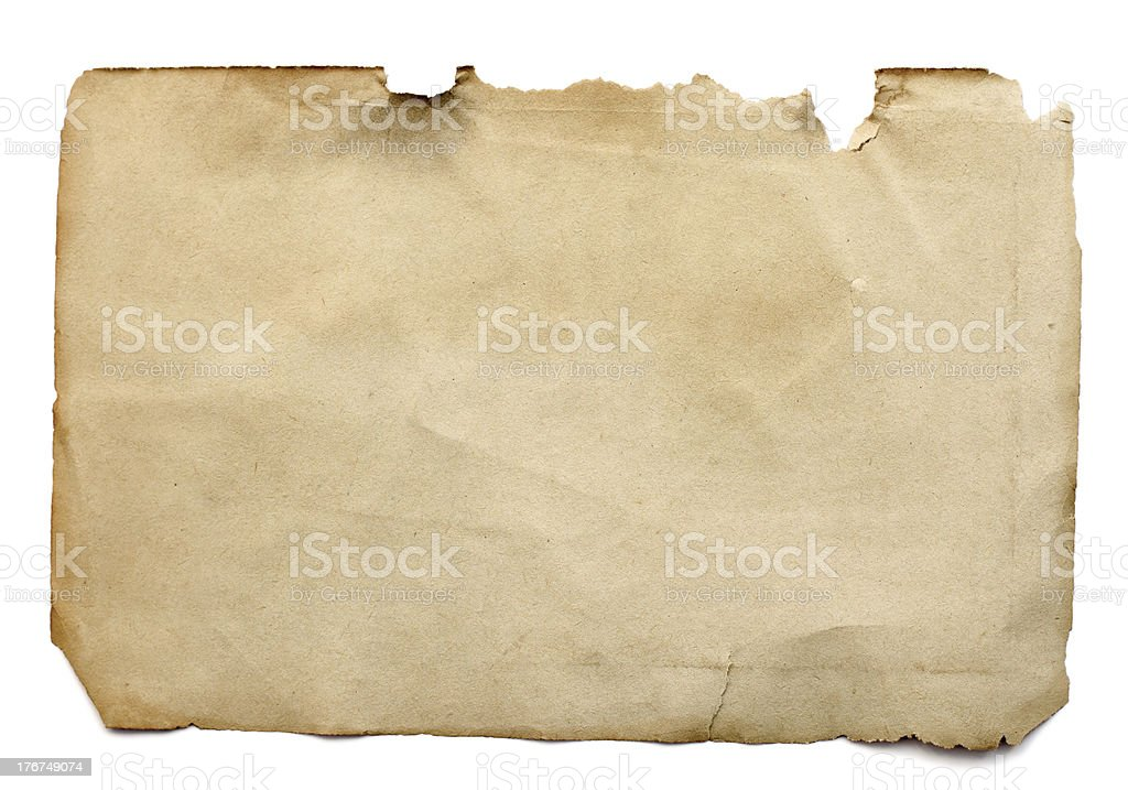Old page from a book royalty-free stock photo