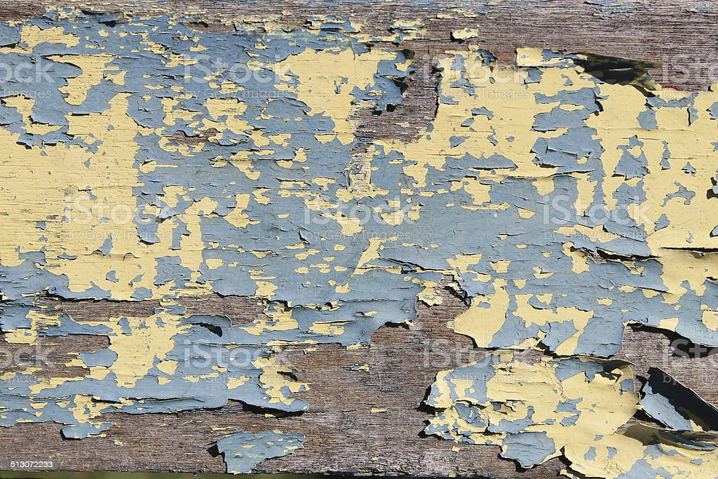 Old paint on a horse cart stock photo