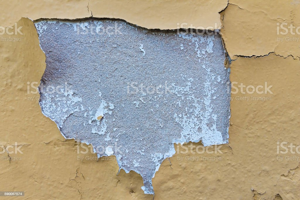 old paint peeling wall abstract of old paint peeling stock photo