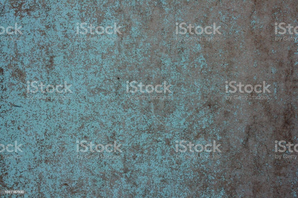 Old Paint Texture On Metal In Style Grunge Stock Photo   Download Image Now