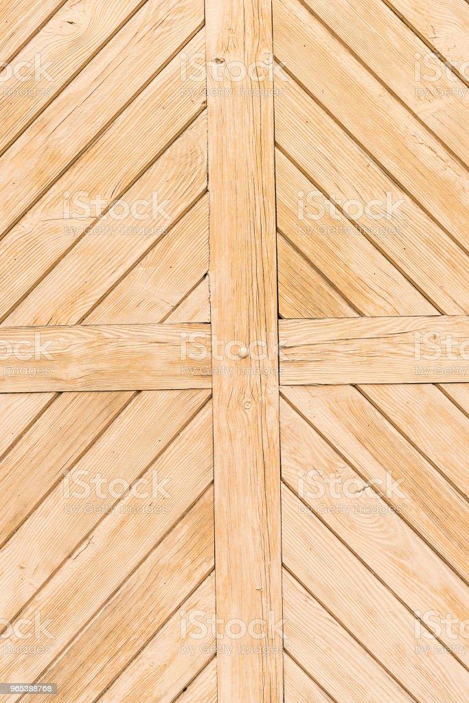 Old painted beige wooden planks zbiór zdjęć royalty-free