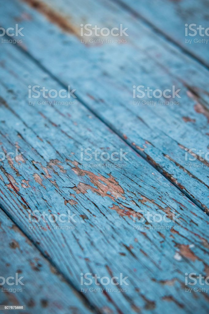 Old painted boards stock photo