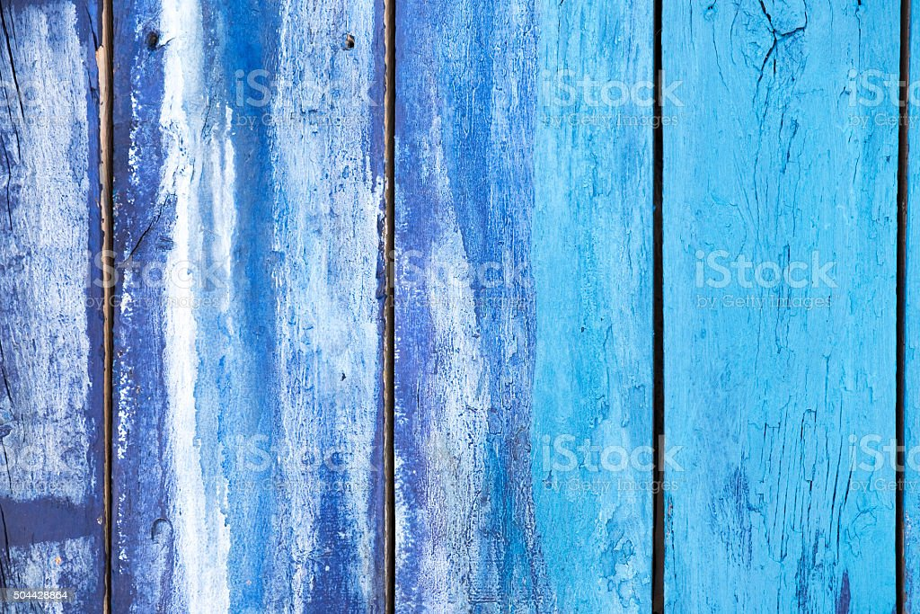 Old painted wood. stock photo