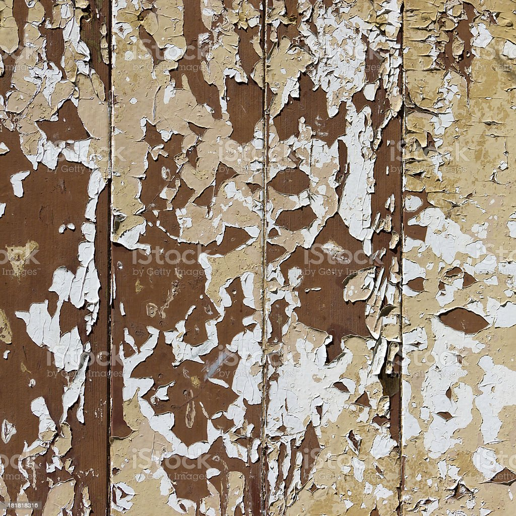 Old painted wood wall - texture or background royalty-free stock photo