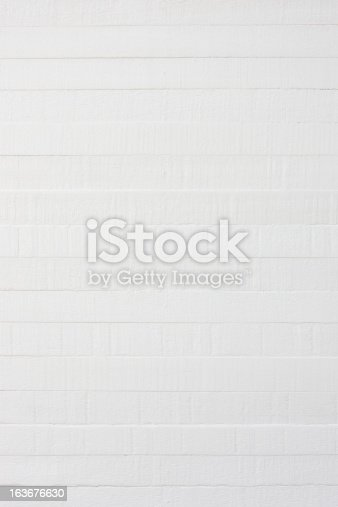 istock Old painted wooden board background. 163676630