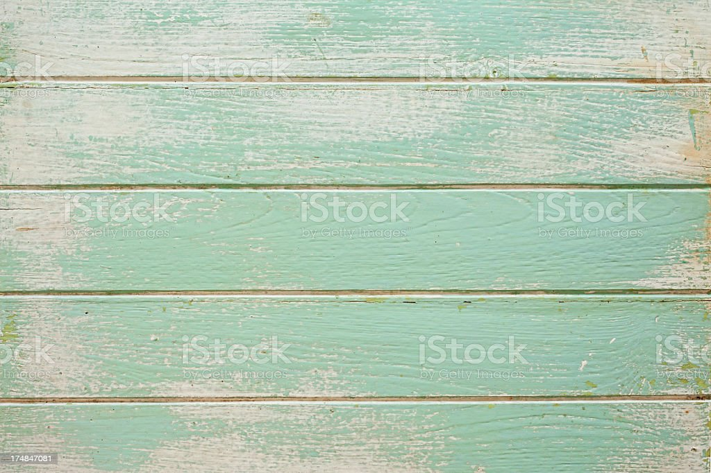 Old painted wooden board background. stock photo