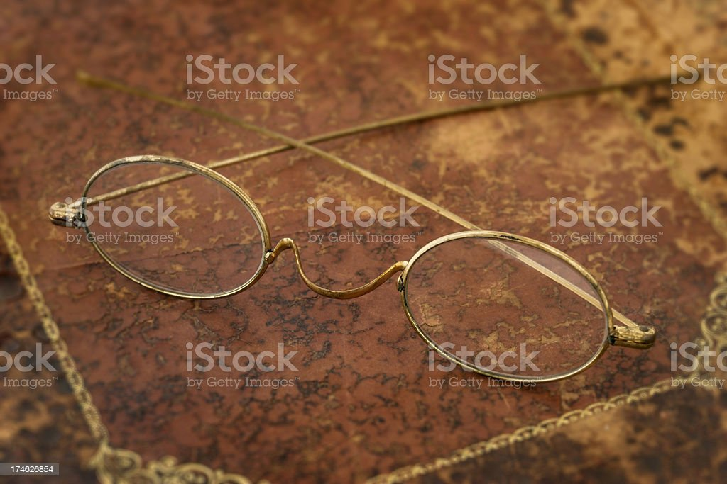 Old Pair of Glasses stock photo
