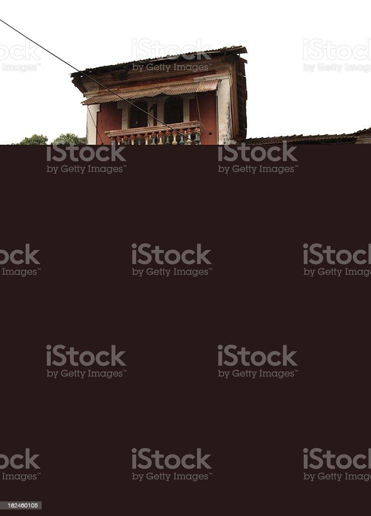 Arquitetura antiga Panjim foto royalty-free