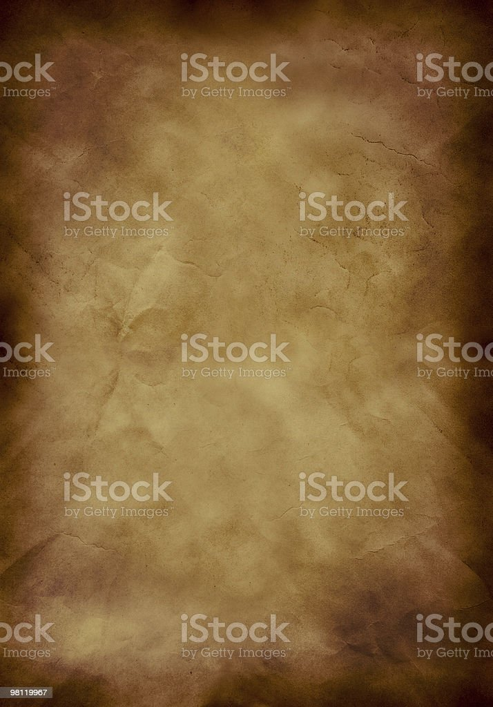 Old paper background cross processed royalty-free stock photo