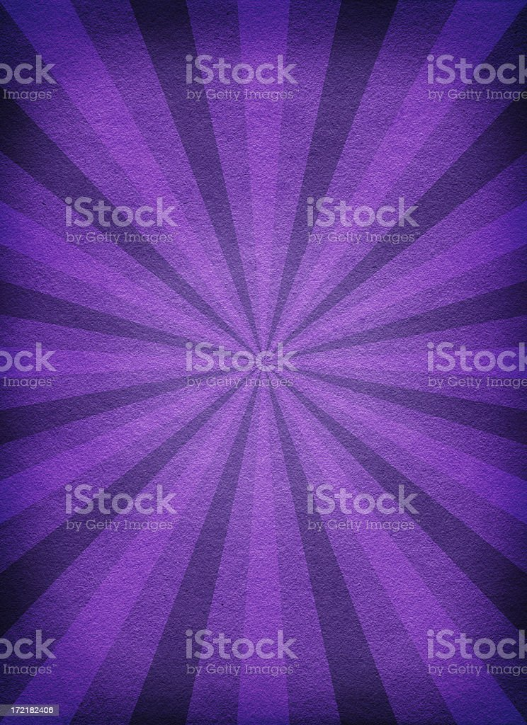 Old Paper Background with Purple Rays royalty-free stock photo
