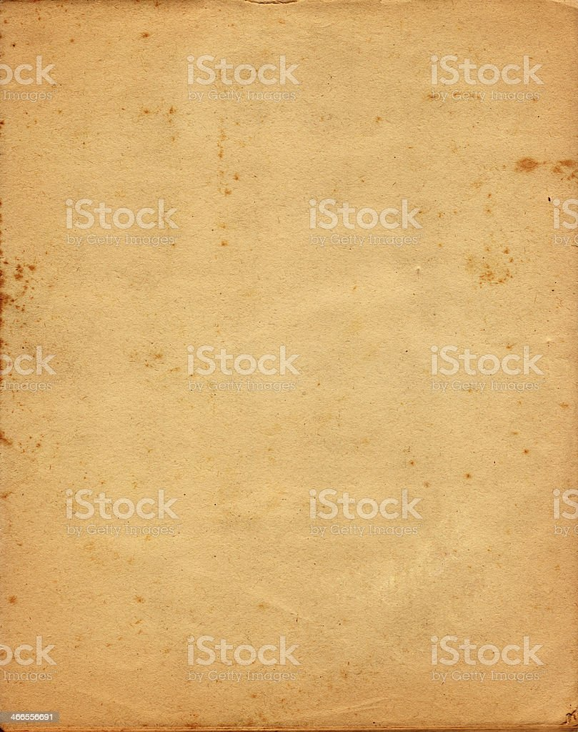 Old Paper from 1950's royalty-free stock photo