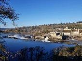 istock Old paper mill Willamette Falls Oregon City 1077654806