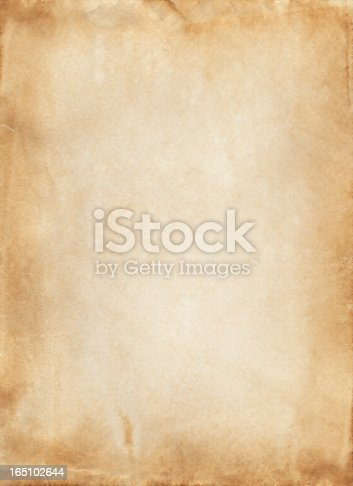 istock Old paper 165102644