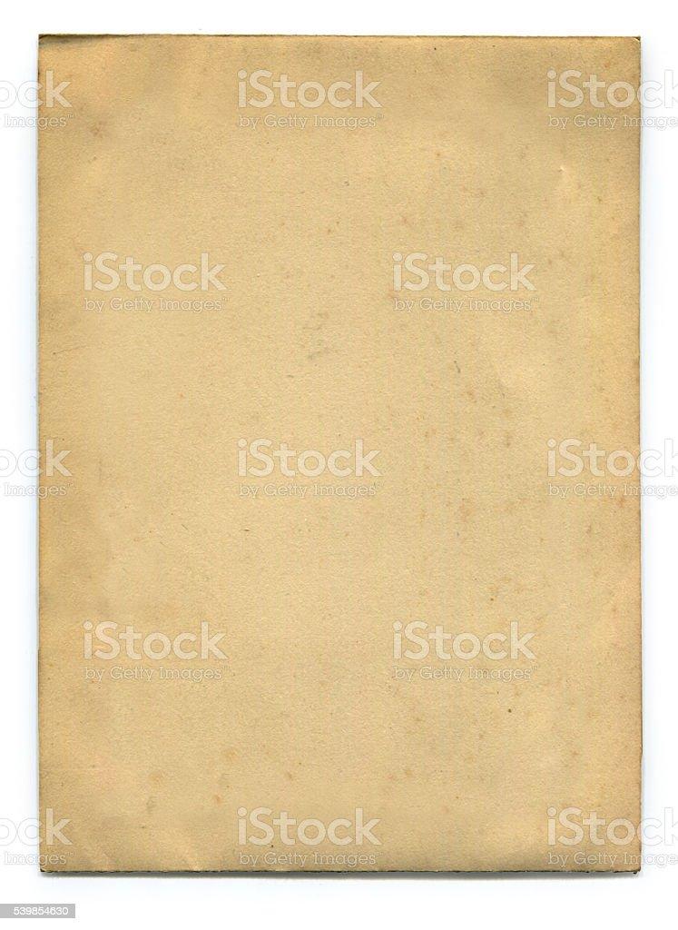 Velho papel (incluindo Traçado de Recorte)  - foto de acervo