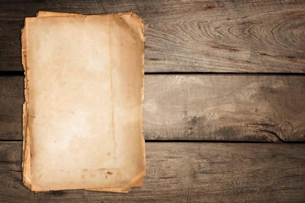 old paper - pergamena materiale cartaceo foto e immagini stock