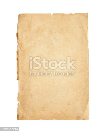 istock Old paper 692657244