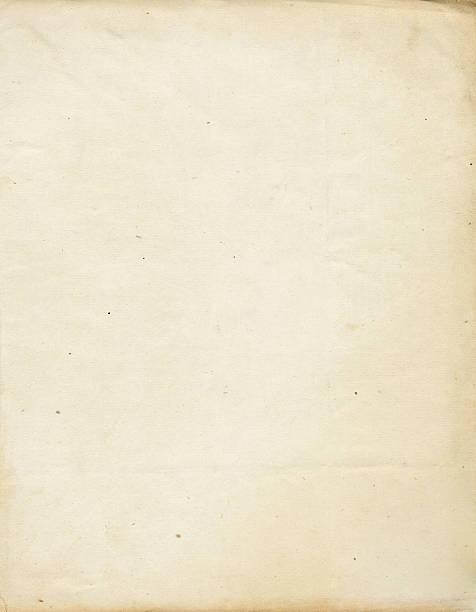 старый бумага - письмо документ стоковые фото и изображения