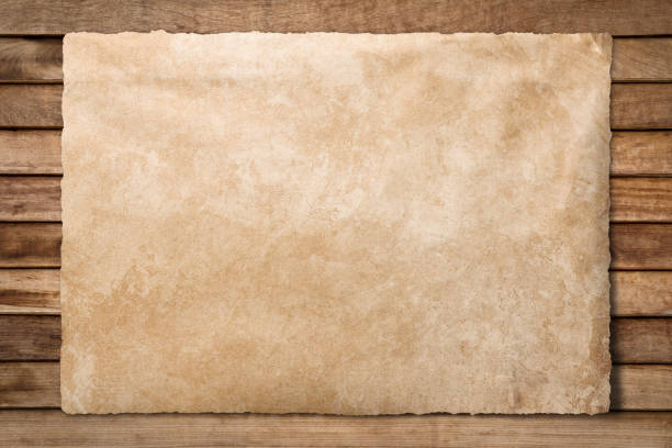 old paper sheet at wooden background - west direction stock pictures, royalty-free photos & images