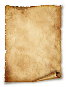 istock Old paper sheet. Original background or texture 175657898